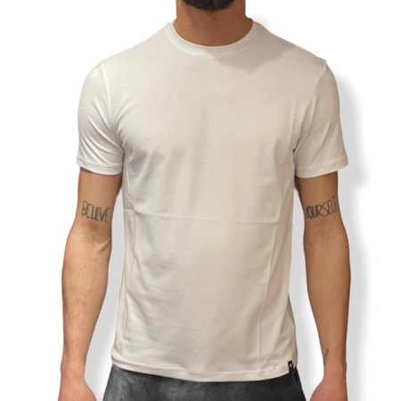 WHY NOT BRAND - T SHIRT BIANCA SLIM FIT T54
