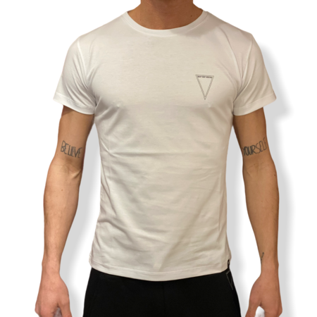 WHY NOT BRAND - T SHIRT BIANCA LOGO T29