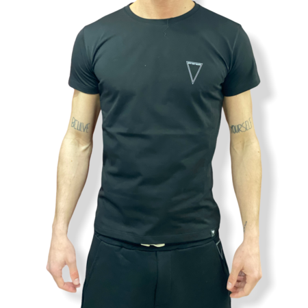WHY NOT BRAND - T SHIRT NERA LOGO T29