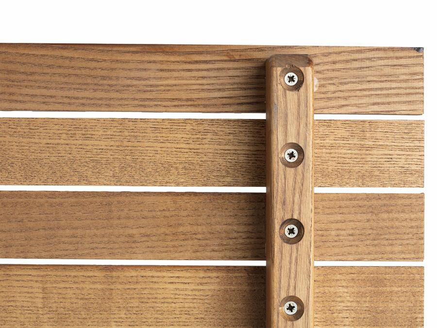Tavolo pieghevole in legno di Frassino Mod. Zeus 80x80