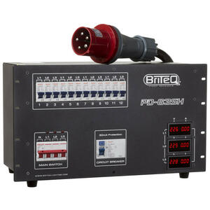 BriteQ PD-63SH/GERMAN - Power Distributor 63A / Harting+Socapex (GER)