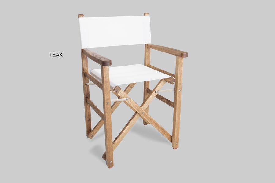 Poltrona regista Mod. ERA in legno di frassino