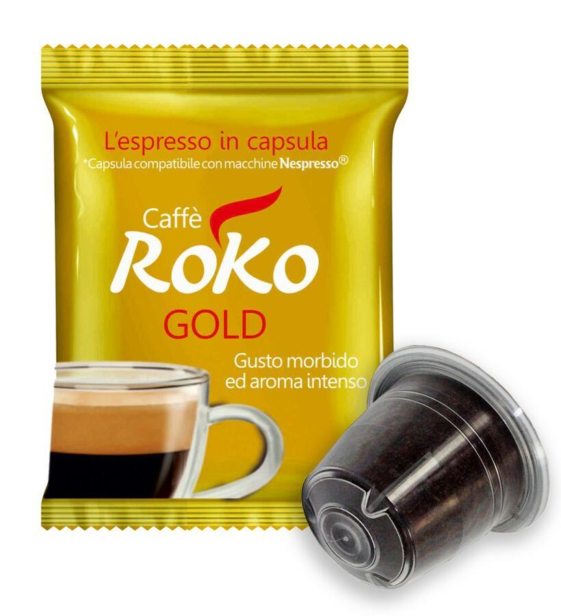 Roko Gold Nespresso Pz.100