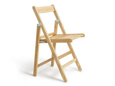 Sedia richiudibile in legno di frassino Mod. Atena