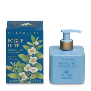 L'Erbolario - Foglie di tè Gel detergente viso e mani