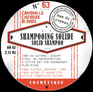Mas du Roseau - Shampoo solido alla Camomilla