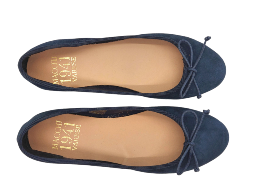 Macchi 1941 - Ballerina 1930 - Camoscio Blu