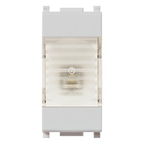14382.SL LAMPADA DI EMERGENZA LED 1M 230V SILVER PLANA