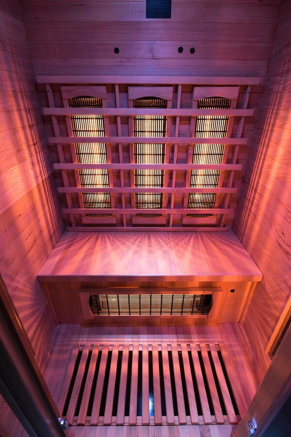Sauna a raggi infrarossi APOLLON - TECHNOLOGIA QUARTZ - 2 Posti