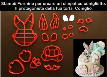 Kit coniglietto Tagliapasta/formine