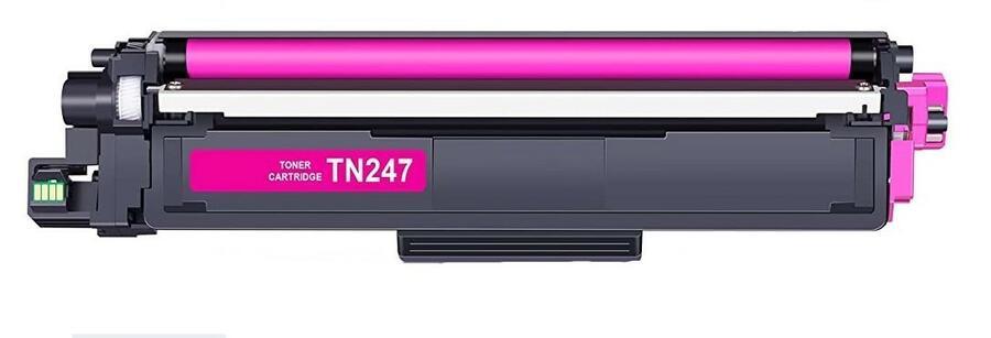 SET TONER COMPATIBILI BROTHER TN247 (NERO - 247, CIANO - 247, MAGENTA - 247, GIALLO - 247)