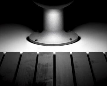 Lampada per Esterno BITTA in Ghisa Verniciata de Il Fanale, Varie Finiture - Offerta di Mondo Luce 24