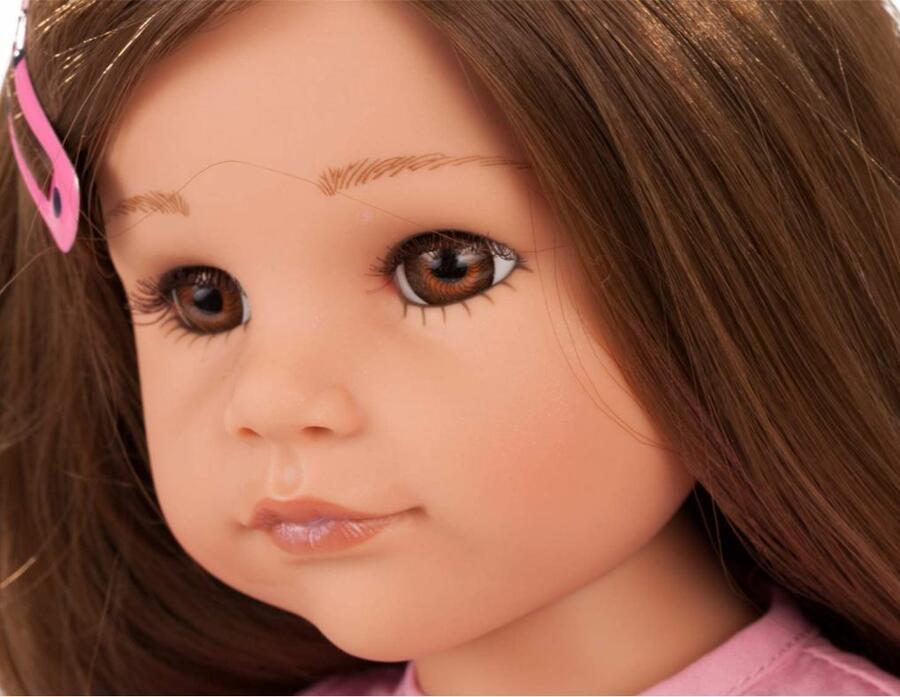 Bambola in Vinile Hannah At Her Friend Edizione Numerata Originale di Gotz qualità Made in Germany