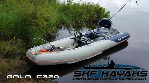 Canoa Tender GALA C320 - Piccolo gommone da pesca o turismo