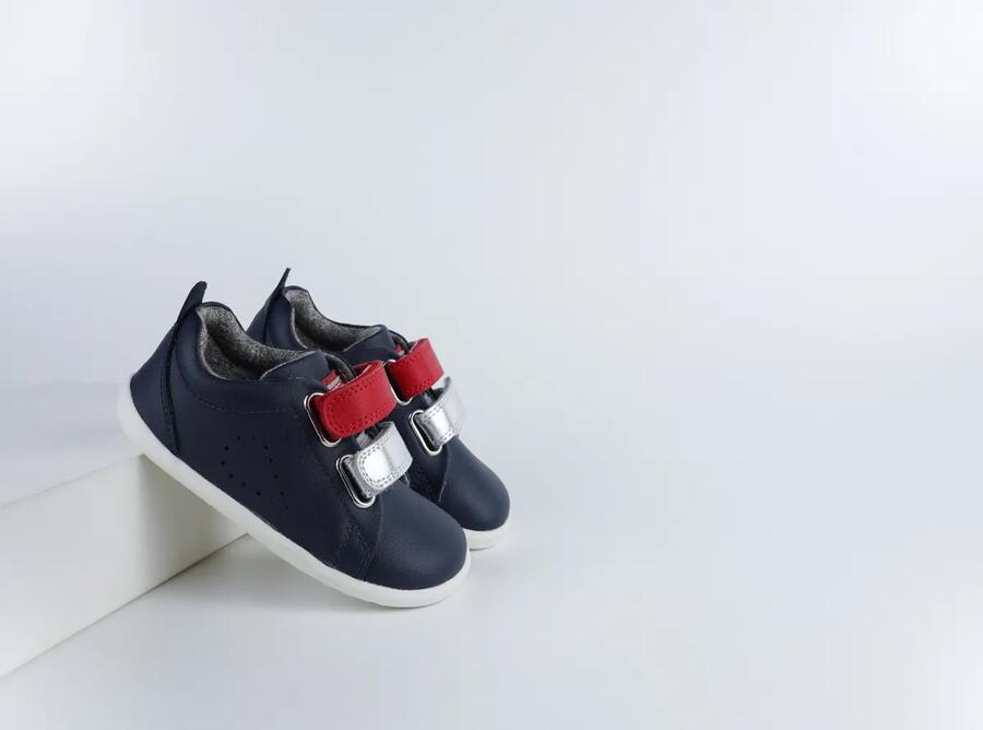 Bobux - Step Up - Grass Court Switch - Navy