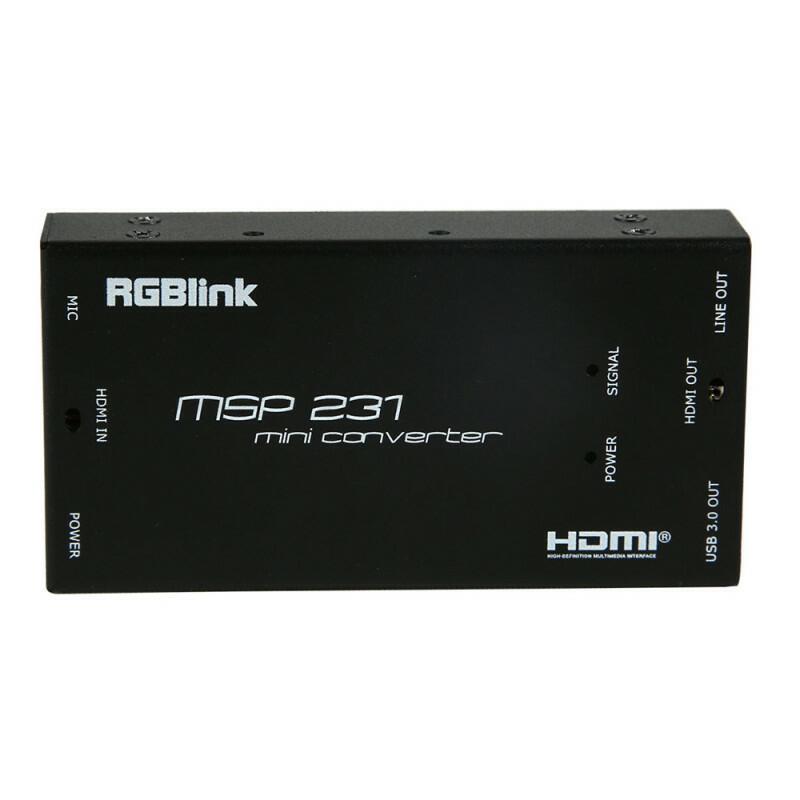 RGBLink MSP231 - Acquisizione HDMI USB3.0