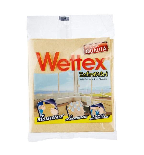 Wettex Panno Vetri Asciuga e non lascia aloni garantito.