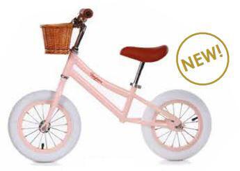 Bicicletta Balance Bike Pink da Equilibrio  per Bambini della Linea Baghera