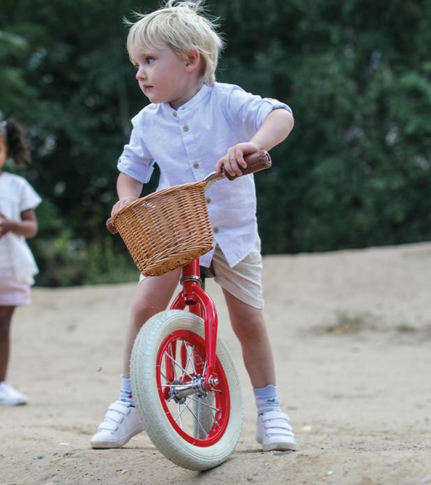 Bicicletta Balance Bike Blu da Equilibrio  per Bambini della Linea Baghera