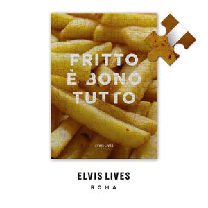 Elvis Lives Puzzle - Fritto