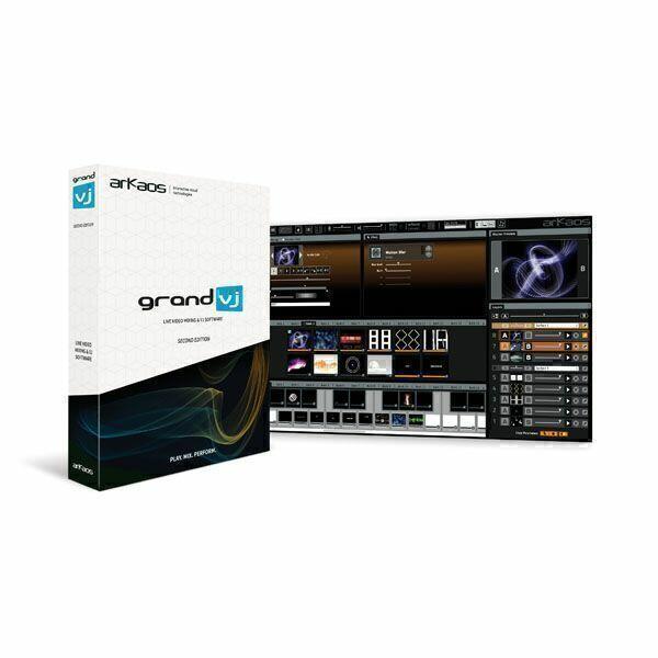 ARKAOS GRAND VJ 2.6 Software di mixaggio video