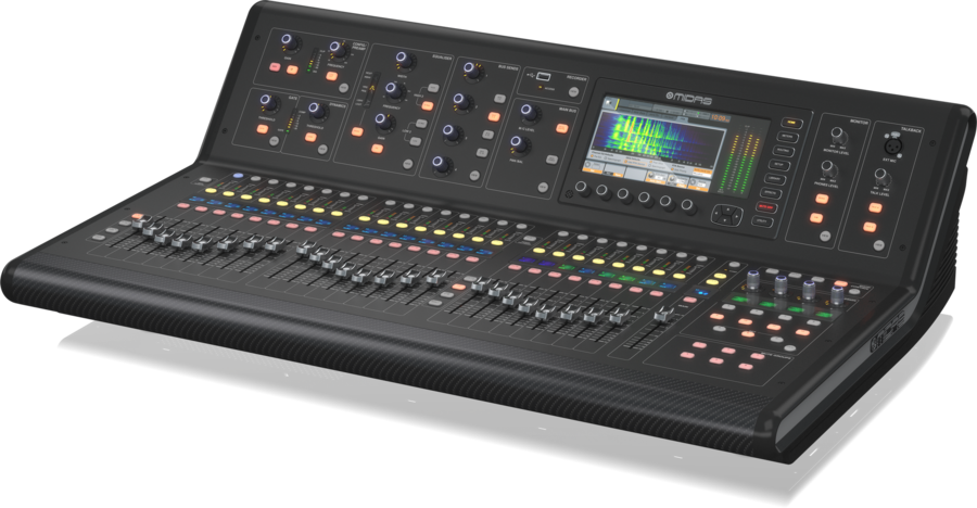 Midas M32 Live Mixer Digitale 32 Ch con Stage Box DL32 e Flightcase