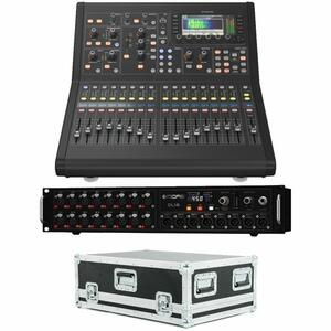 Midas M32R Live Mixer Digitale 32 Ch con Stage Box DL16 e Flightcase