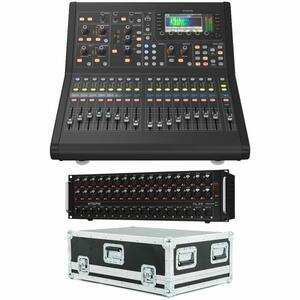 Midas M32R Live Mixer Digitale 32 Ch con Stage Box DL32 e Flightcase