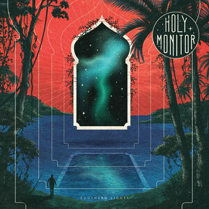 HOLY MONITOR  -SOUTHERN LIGHTS - LP RED/WHITE SWIRL VINYL