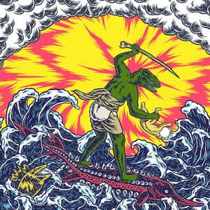 KING GIZZARD & THE LIZARD WIZARD - TEENAGE GIZZARD - LP (Spinda Records)