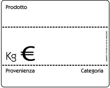 20 Segnaprezzi lavagnetta bianca/nera (2 varianti)