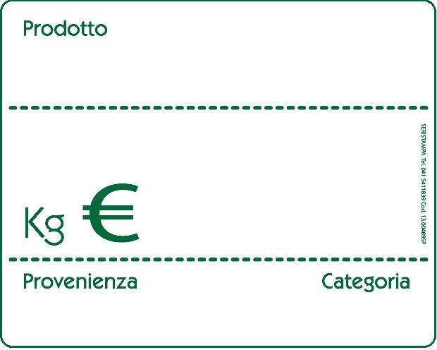 20 Segnaprezzi lavagnetta bianca/verde (2 varianti)