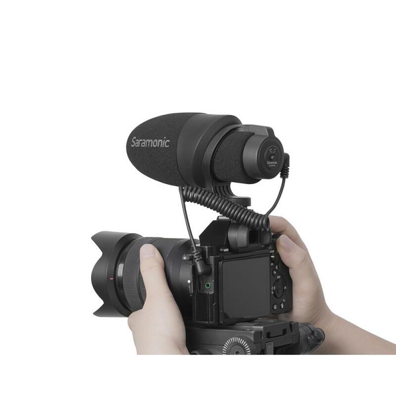 Saramonic CamMic - Microfono direzionale sulla fotocamera