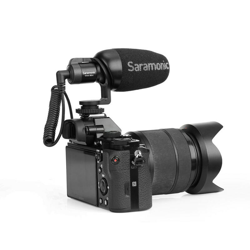 Saramonic Vmic Mini - Microfono direzionale per fotocamera