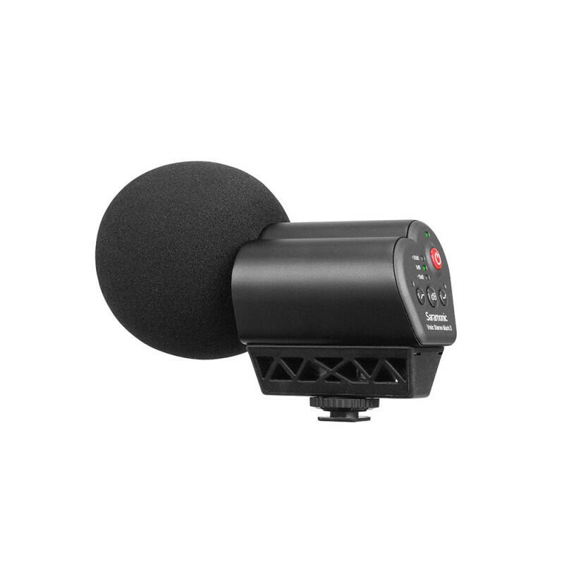 Saramonic Vmic Stereo Mark II - Microfono stereo per fotocamera
