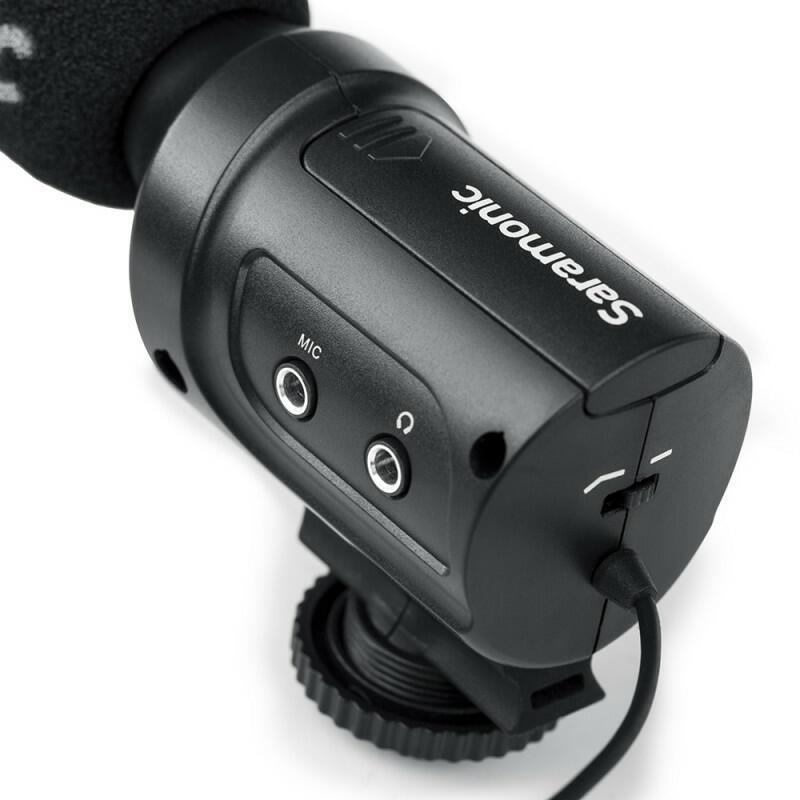 Saramonic SR-M3 - Microfono a condensatore direzionale