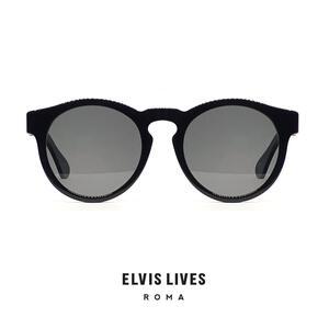 Elvis Lives Sunglasses - Tondö Black