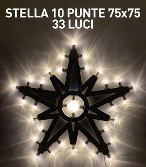 STELLA 10 PUNTE 33 LUCI - LUMINARIA SALENTINA D'ARREDO