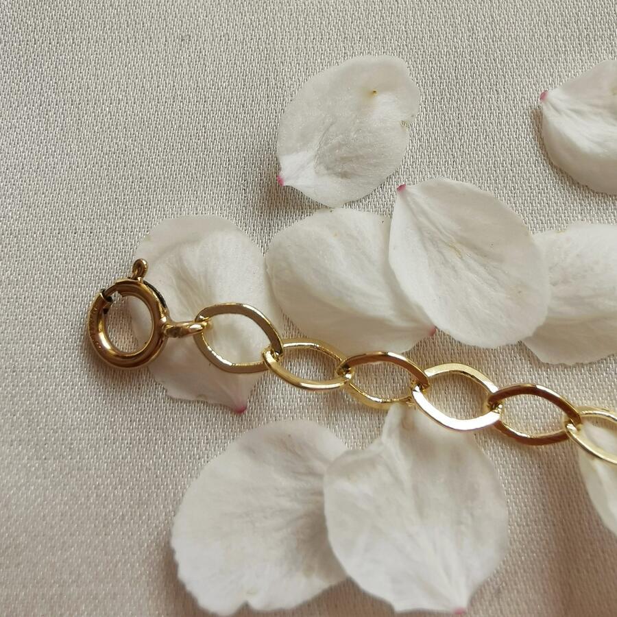 Catena di allungamento per collane in gold-filled