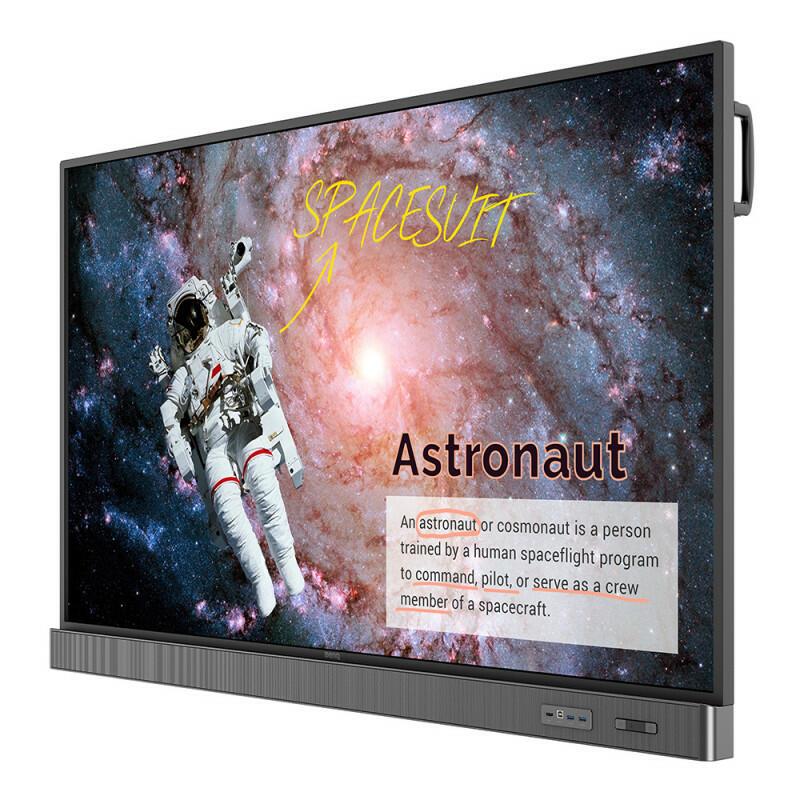 """BenQ RM6502S - 65 """", UHD 3840x2160, 350 cd / m2, display interattivo a schermo piatto per l'istruzione"""