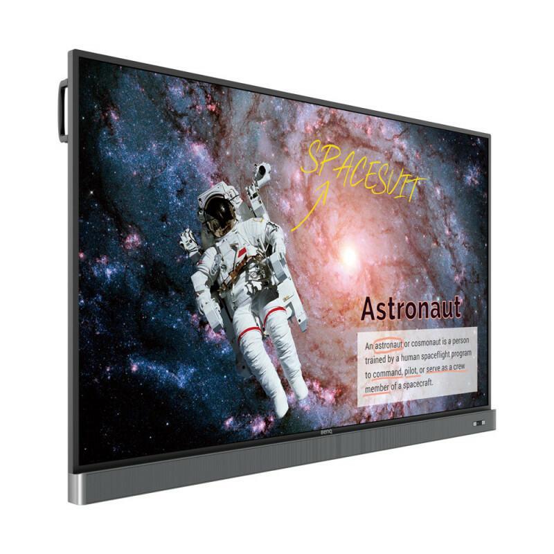 """BenQ RM7502K - 75 """", 4K UHD 3840x2160, 350 nit, display interattivo a schermo piatto per l'istruzione"""