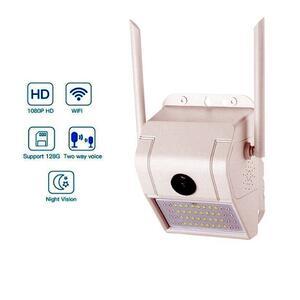 Telecamera 1080P sensore di Movimento Interfono Vocale 160° visione Notturna IP66 Impermeabile