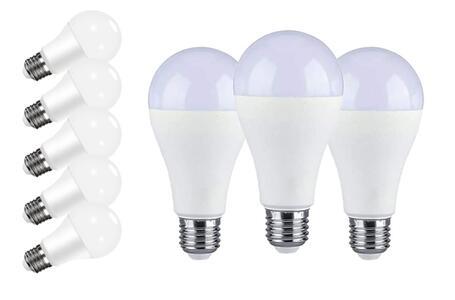 2 Lampadina LED E27 7W (equivalenti a 56W) 6500K 560 lumen luce bianca fredda Pacco 2 lampadine Classe di efficienza energetica A+