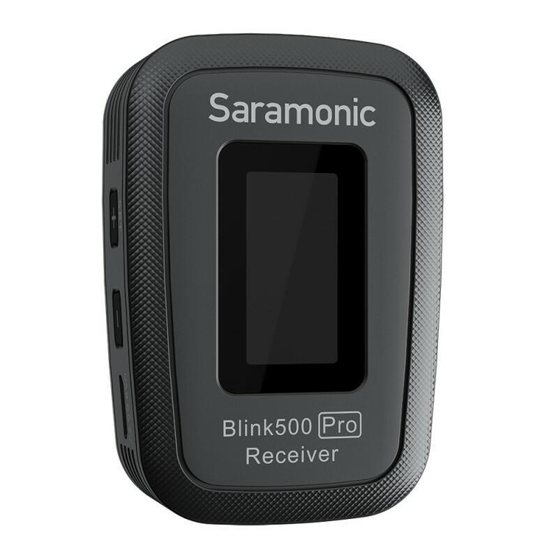 Saramonic Blink500 Pro B1 (TX + RX) - Sistema di microfoni wireless (2,4 GHz)