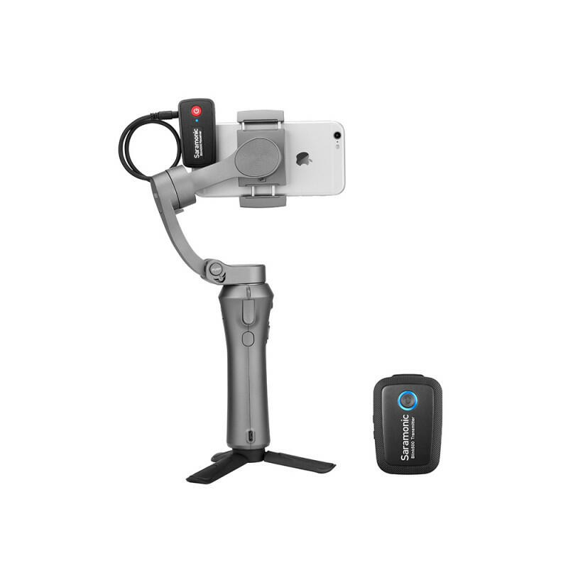 Saramonic Blink500 B1 (TX + RX) - Sistema di microfoni wireless (2,4 GHz)