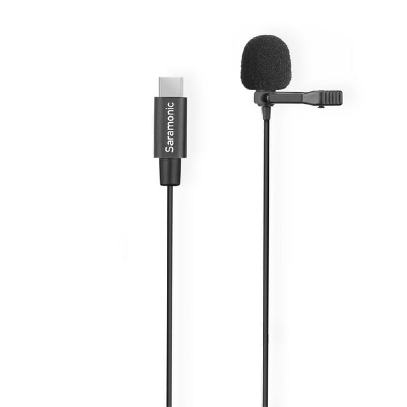 Saramonic LavMicro U3-OA - Microfono Lavalier con dispositivo USB-C per Dji Osmo Action