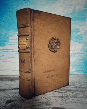 La Storia Infinita - Michael Ende - Edizione Longanesi, copertina fatta a mano in piena pelle
