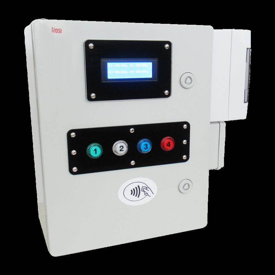 Lettore di Carte/Braccialetti per 4 lavatrici ( o 2 Lavatrici e 2 asciugatrici) + Programmatore