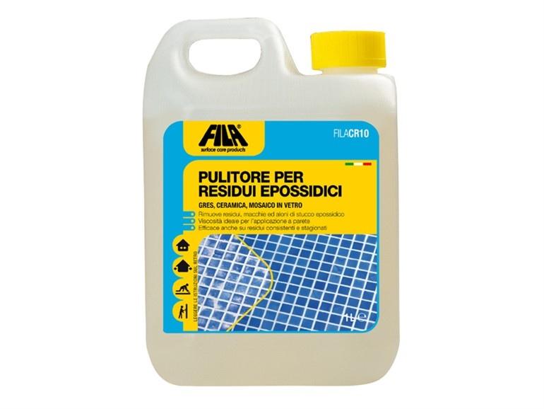 Pulizia del gres e della ceramica dai residui di stucco FILA CR10