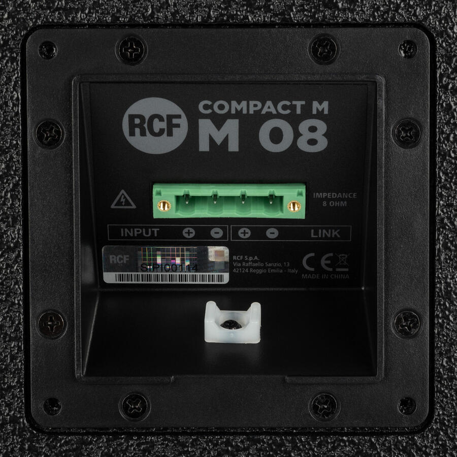 Rcf COMPACT M 08